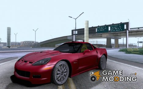 Chevrolet Corvette z06 Tuning для GTA San Andreas
