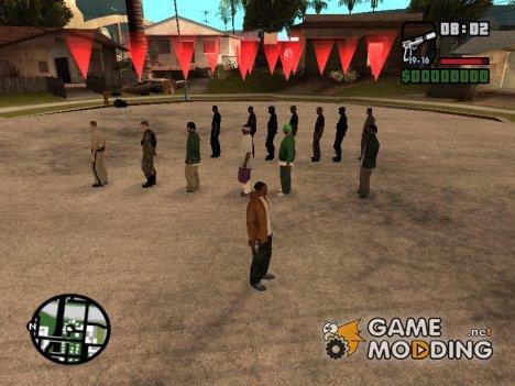 Эксперимент for GTA San Andreas