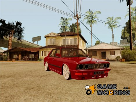 BMW M5 E28 Lowred for GTA San Andreas