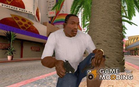 Тот самый револьвер из COD Black Ops for GTA San Andreas