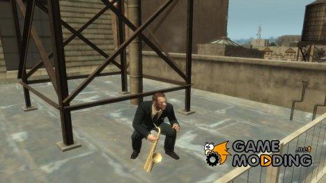 Саксофон for GTA 4