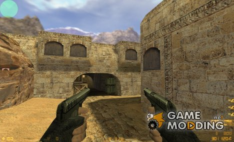 Snake's Tokarevs on Jennifer's anims for Counter-Strike 1.6
