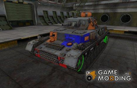 Качественный скин для PzKpfw IV для World of Tanks