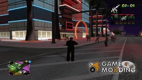 GTA V char transper для GTA San Andreas