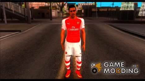 Alexis Sánchez for GTA San Andreas