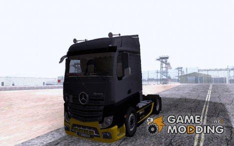 Mercedes Benz Actros MP4 for GTA San Andreas