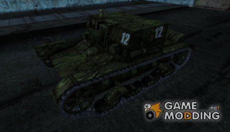Шкурка для АТ-1 for World of Tanks