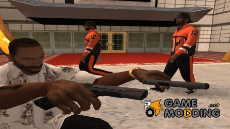 Original colt 45 in hd для GTA San Andreas