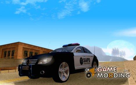 Mercedes-Benz CLS500 SAPD для GTA San Andreas