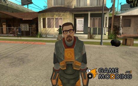 Gordon Freemen для GTA San Andreas
