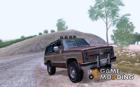 Chevrolet Blazer K5 Stock'86 для GTA San Andreas