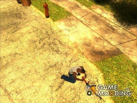 Хранение оружия (версия 2) for GTA San Andreas
