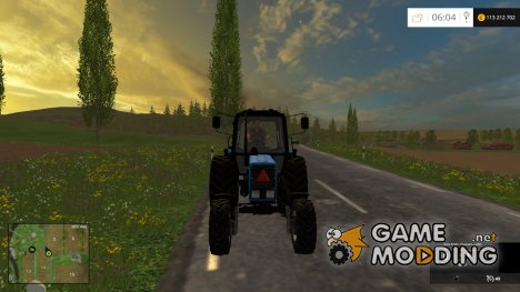 МТЗ 82.1 v 2.3 для Farming Simulator 2015
