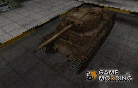 Исторический камуфляж T1 Heavy для World of Tanks
