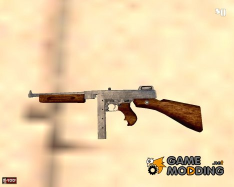 Thompson M1928 A1 for Mafia: The City of Lost Heaven