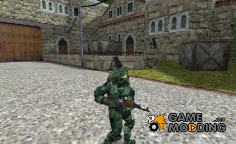 Halo 3 Master Chief для Counter-Strike 1.6