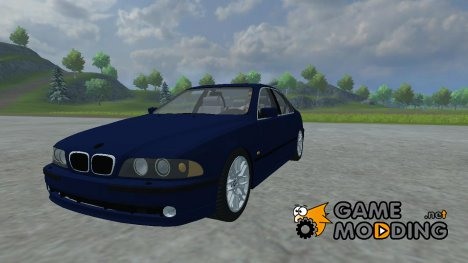 BMW 540i for Farming Simulator 2013