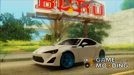 Toyota GT86 Lowstance for GTA San Andreas