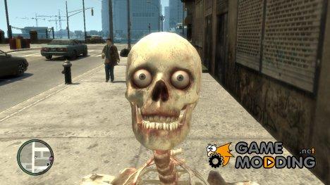 Скелет for GTA 4