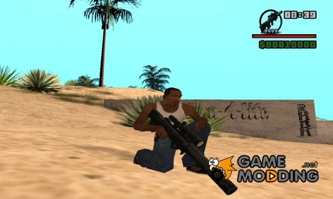 VKS sniper rifle for GTA San Andreas