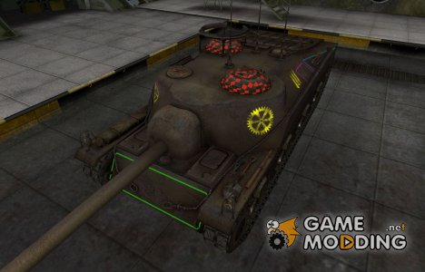 Контурные зоны пробития T28 для World of Tanks