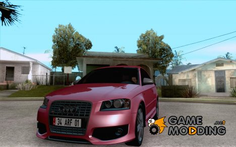 Audi S3 Full tunable для GTA San Andreas