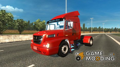 Mercedes Benz Atron 1635 v 2.0 for Euro Truck Simulator 2