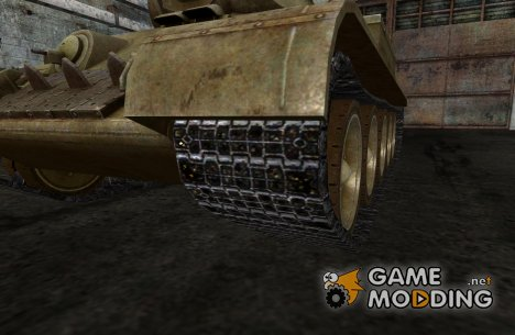 Замена гусениц для КВ, T-34
