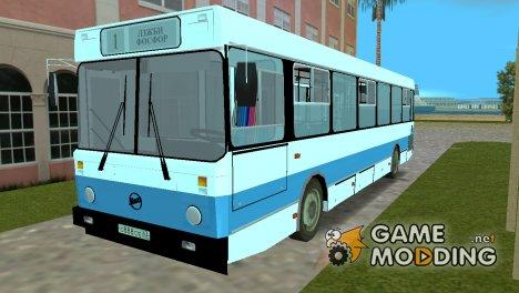 ЛиАЗ 5256 маршрут №1 Тольятти для GTA Vice City