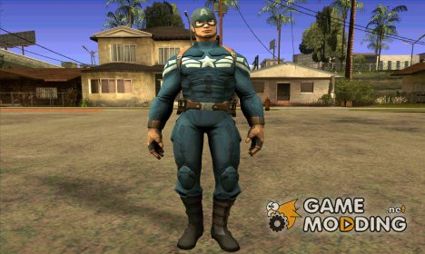 Captain America for GTA San Andreas