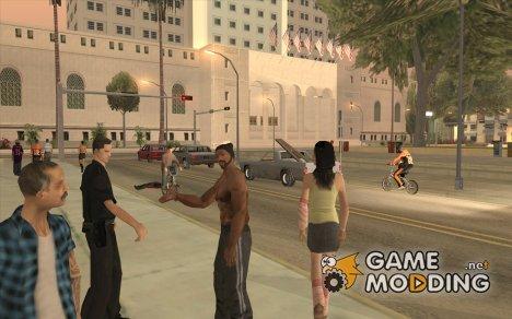 Police mod для GTA San Andreas