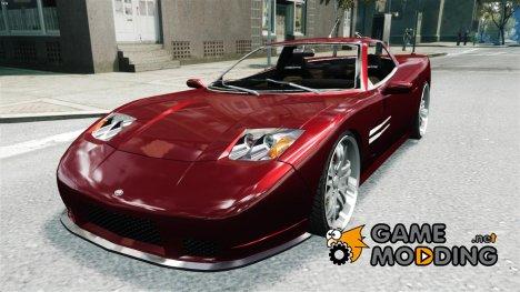 Coquette на 22-ух  дюймовых дисках для GTA 4