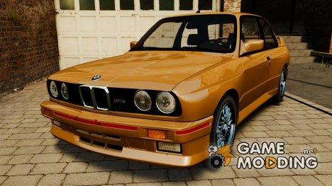 BMW M3 E30 Stock 1991 для GTA 4