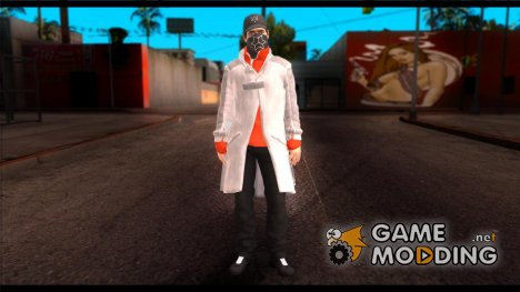 Aiden Pearce from Watch Dogs v1 для GTA San Andreas
