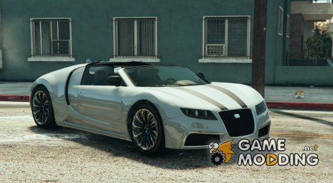 Adder Decapotable (Bugatti) 2015 для GTA 5