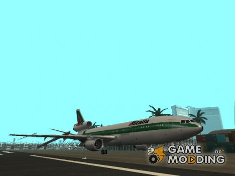 McDonell Douglas DC-10-30 Alitalia for GTA San Andreas