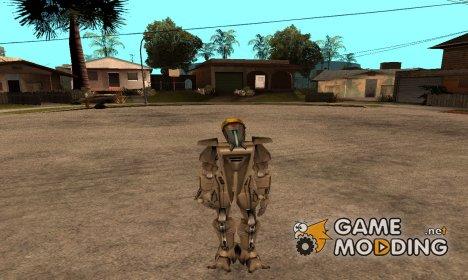 Робот полицейский для GTA San Andreas