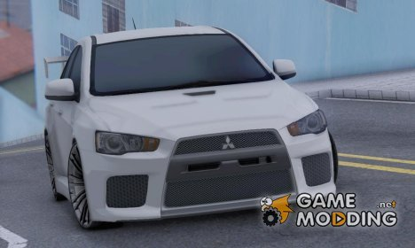 Mitsubishi Lancer X RAY-Racing Edition HD for GTA San Andreas