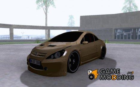 Peugeot 307 CC для GTA San Andreas