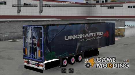 Uncharted 4 Trailer for Euro Truck Simulator 2