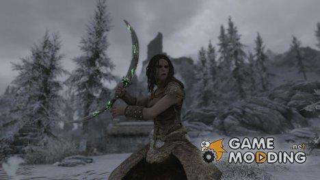 Daedric Crescent Blade for TES V Skyrim
