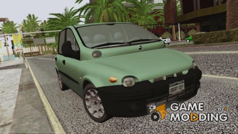 Fiat Multipla Black Bumpers для GTA San Andreas