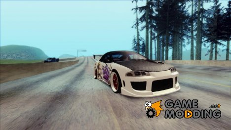 Mitsubishi Eclipse GSX 1999 - K-on Itasha для GTA San Andreas