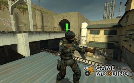 Urban GsgN_V2 for Counter-Strike Source