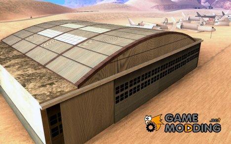 Заброшенный аэродром для GTA San Andreas