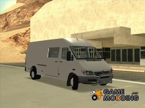Mercedes-Benz Sprinter 616cdi для GTA San Andreas