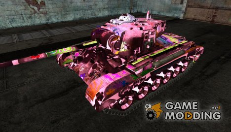 M26 Pershing No0481 для World of Tanks