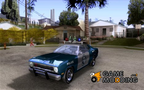 Plymout Duster 340 POLICE v2 для GTA San Andreas