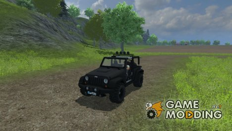 Jeep Wrangler for Farming Simulator 2013