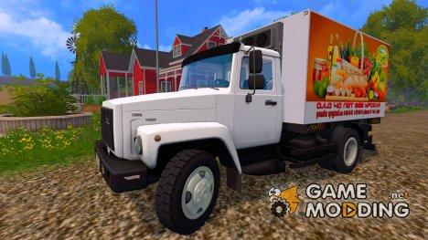 ГАЗ САЗ 35071 ПРОДУКТОВЫЙ for Farming Simulator 2015